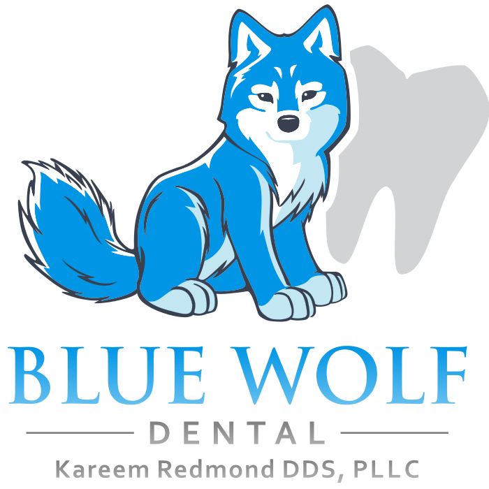 Blue Wolf Dental Logo